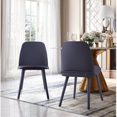 Fordham Dining Chair Color: Gray