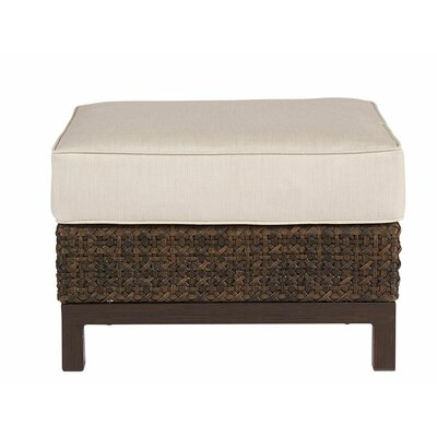 Asphod�le Outdoor Wicker Standard Ottoman