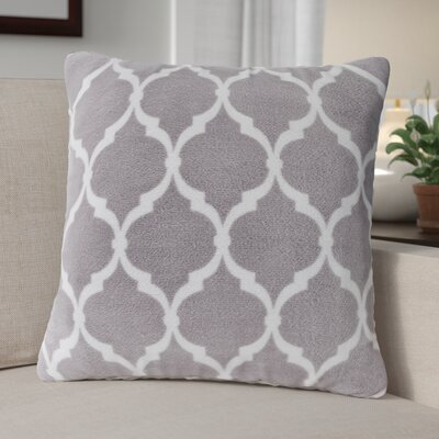 Flannagan Square Throw Pillow Color: Gray