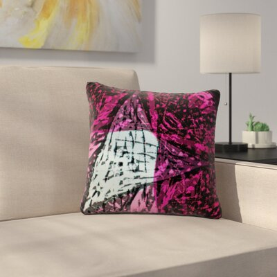Family by Theresa Giolzetti Outdoor Throw Pillow Color: Pink