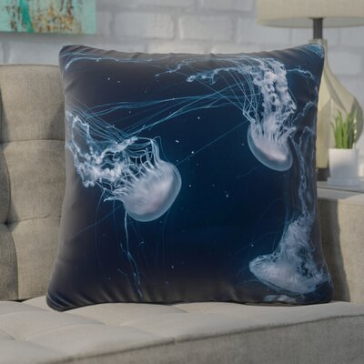 Nathaniel Jellyfish Cotton Euro Pillow