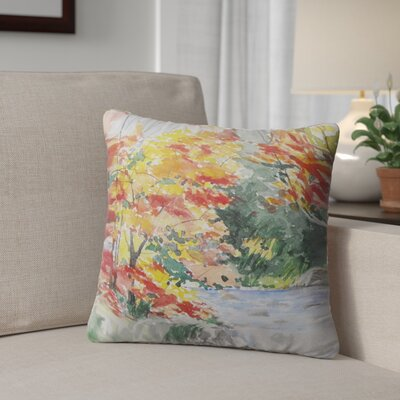 Paxtonville Outdoor Throw Pillow Size: 26 H x 26 W x 6 D