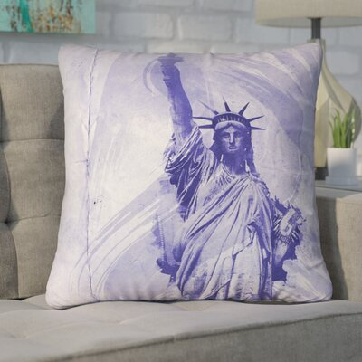 Houck Watercolor Statue of Liberty Euro Pillow