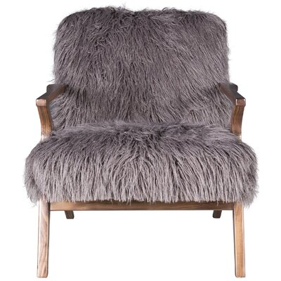 Currier Armchair Upholstery: Charcoal
