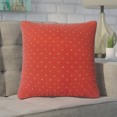 Wieczorek Polka Dot Down Filled 100% Cotton Throw Pillow Size: 18 x 18