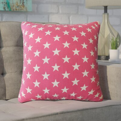 Wexler Geometric Down Filled 100% Cotton Throw Pillow Size: 22 x 22, Color: Pink