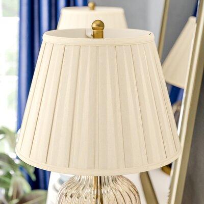 16 Silk/Shantung Empire Lamp Shade Color: Eggshell