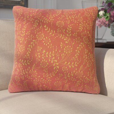 Miami Floral Down Filled Throw Pillow Size: 22 x 22