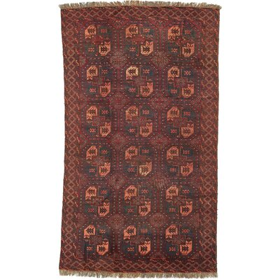 One-of-a-Kind Batchelder Hand-Knotted Wool Rust Red Area Rug