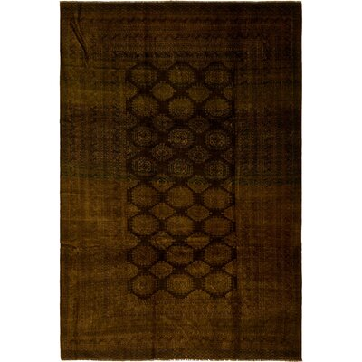 One-of-a-Kind Batchelder Hand-Knotted Wool Olive Area Rug