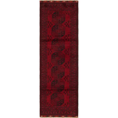 One-of-a-Kind Batchelder Hand-Knotted Wool Red Area Rug