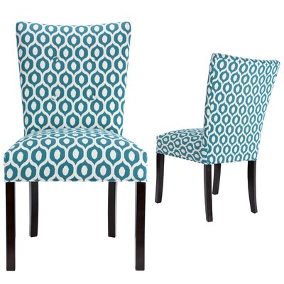 Matteson Fan Back Upholstered Dining Chair