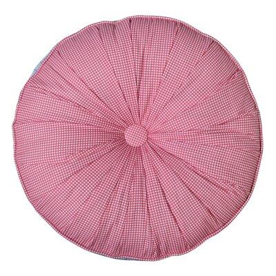 Holler Round Cotton Throw Pillow