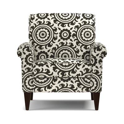 Fassett Armchair Upholstery: Black