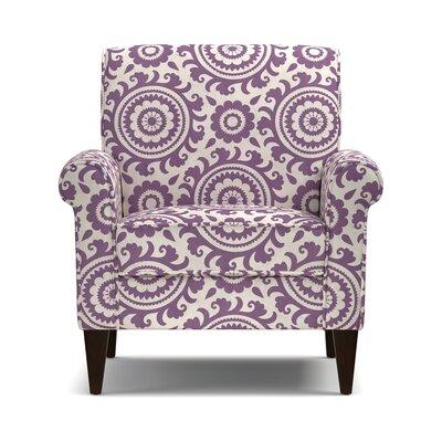 Fassett Armchair Upholstery: Purple