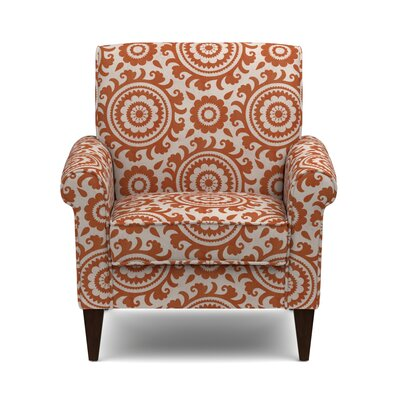 Fassett Armchair Upholstery: Orange