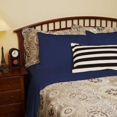 Fraher Organic 320 Thread Count Sheet Set Size: King, Color: Slate Blue