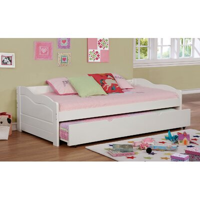 Doynton Daybed with Trundle Color: White