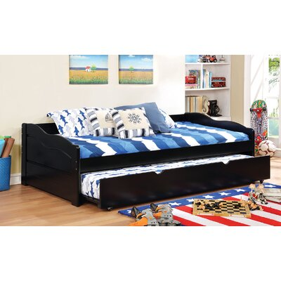 Doynton Daybed with Trundle Color: Black