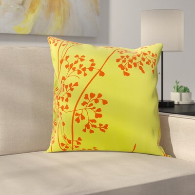 Kandras Outdoor Throw Pillow Color: Green