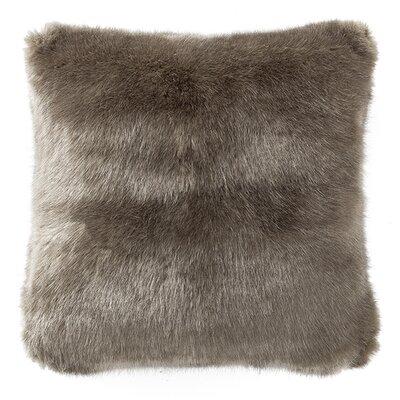 Carrick Faux Fur Throw Pillow