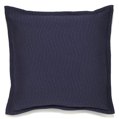 Fendley Mattelasse Euro Sham Color: Navy