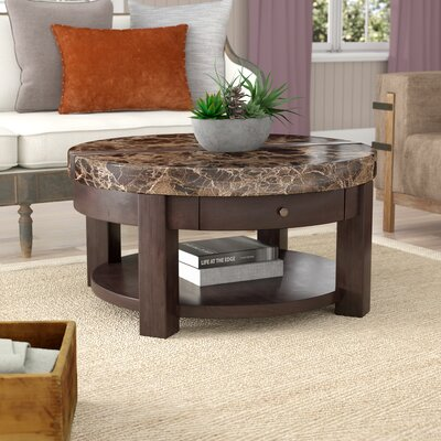 Evergreen Coffee Table with Lift Top