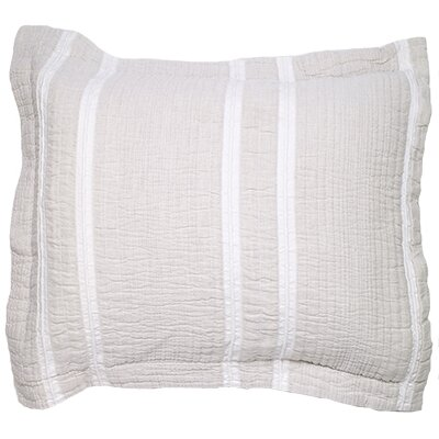 Skinkle Jacquard Stripe Sham Size: Standard