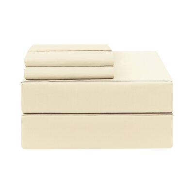 Eckhoff Count Sheet Set Size: Twin, Color: Ivory