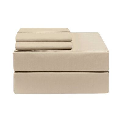 Eckhoff Count Sheet Set Size: King, Color: Linen