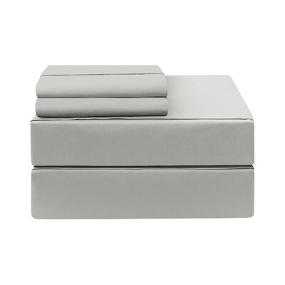 Eckhoff Count Sheet Set Size: California King, Color: Platinum