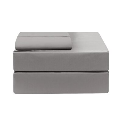 Eckhoff Count Sheet Set Size: King, Color: Charcoal