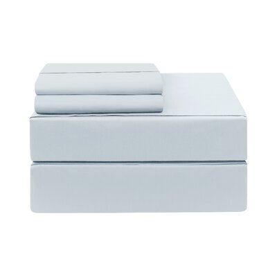 Eckhoff Count Sheet Set Size: Twin, Color: Sky Blue