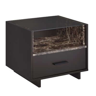 Whitacre 1 Drawer Nightstand