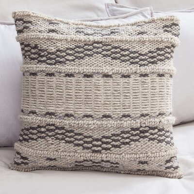 Berrios Wool Throw Pillow