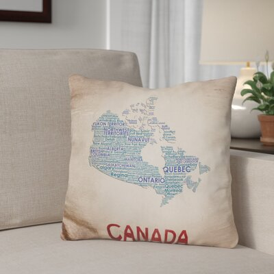Gengler Canada Throw Pillow