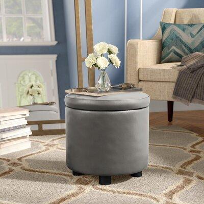 Garonzik Storage Ottoman Upholstery: Gray