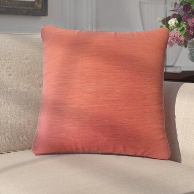 Rooney Solid Down Filled Throw Pillow Size: 22 x 22