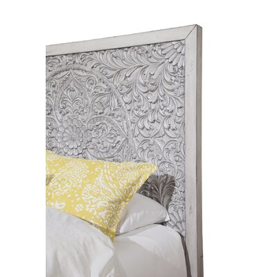 Orellana Panel Headboard Size: King