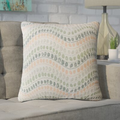 Wiese Geometric Down Filled 100% Cotton Throw Pillow Size: 18 x 18, Color: Sundown