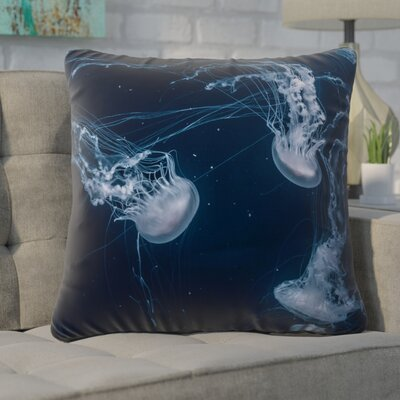 Nathaniel Jellyfish Square Indoor Euro Pillow
