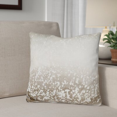 Elliana Obsidian Mist Throw Pillow