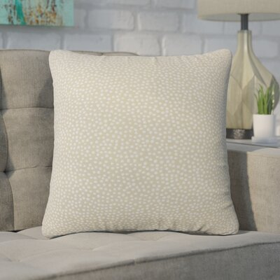 Wilbanks Down Filled Throw Pillow Size: 24 x 24, Color: Jute