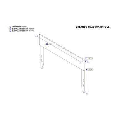 Fatuberlio Panel Headboard Size: Full