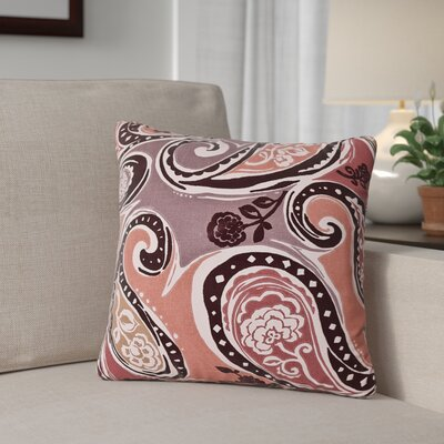 Dewitt Throw Pillow Size: 20, Color: Amber