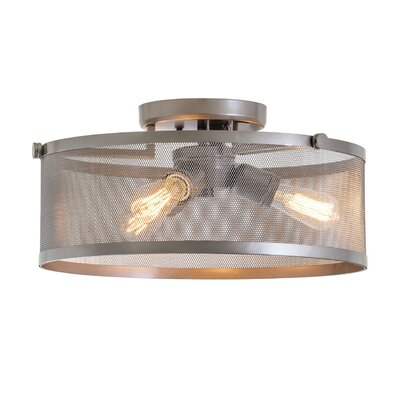 Gullo 3-Light Semi Flush Mount