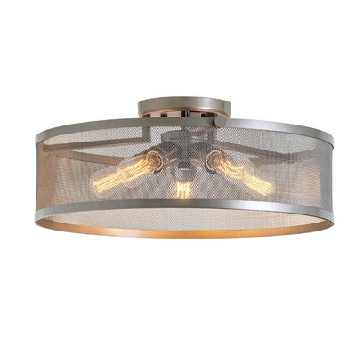 Gullo 5-Light Semi Flush Mount