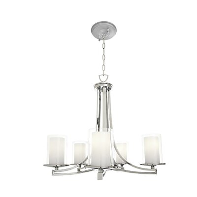 Matthies 5-Light Candle-Style Chandelier Fixture Finish: Buffed Nickel