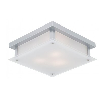 Mattson 3-Light Flush Mount Fixture Finish: Chrome