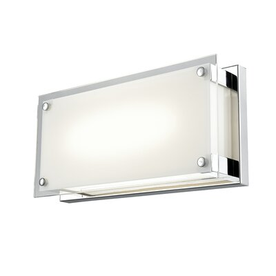 Mattson 1-Light LED Flush Mount Fixture Finish: Chrome